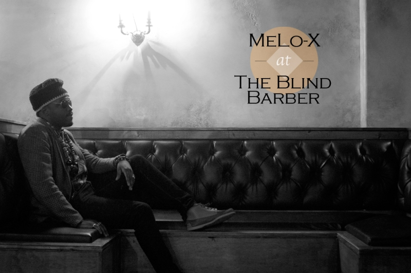 MeLo-X at The Blind Barber.